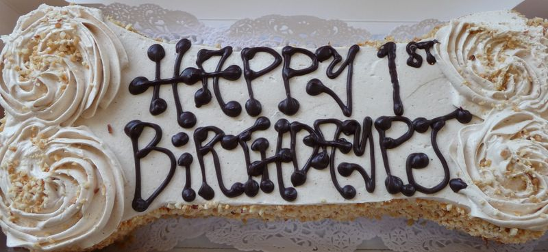 Love My B-day Carrot Cake...
